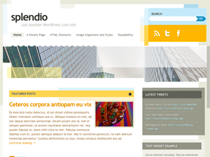splendio (wordpress)