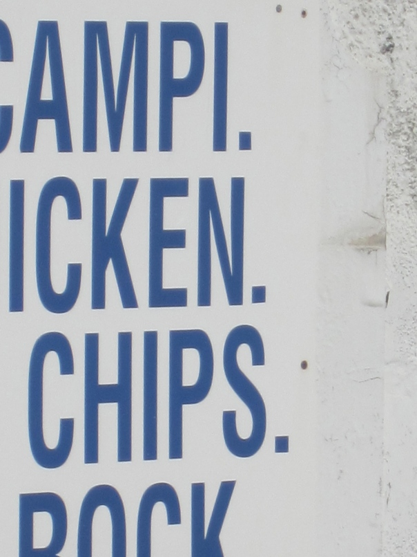 wall menu (mrscarmichael)