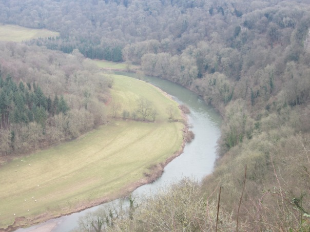 The River Wye from Symonds Yat rock. So wish I'd had a wide angle lens (mrscarmichael)