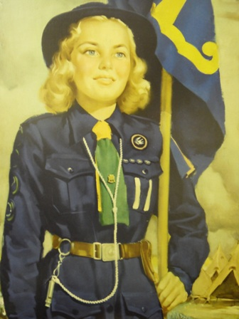 who wouldn't want to be this cherub? (www.girlguides.nb.ca)