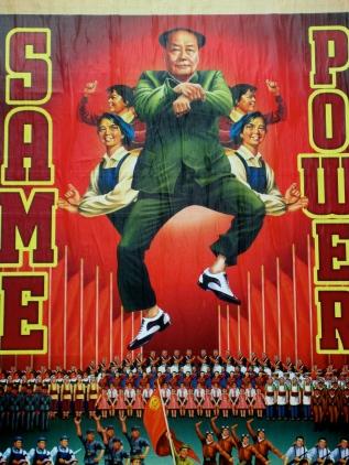 enjoying poster art gangnam style (mrscarmichael)