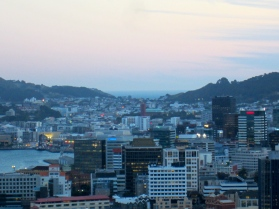 hometown dusk, Wellington Heads from Wadestown (mrscarmichael)