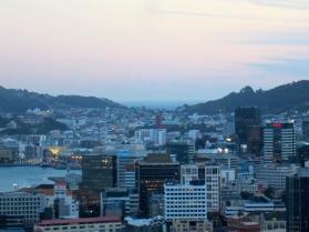 hometown dusk, Wellington Heads from Wadestown (mrscarmichael)