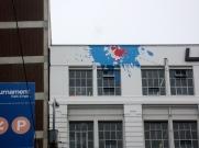 upstairs graffiti (mrscarmichael)