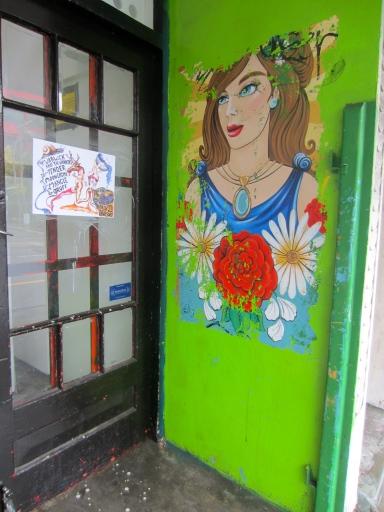 deep in the heart of it, Vivian Street wall art (mrscarmichael)