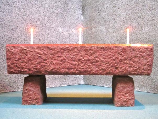Modernist altar, Fortuna Chapel, Karori (mrscarmichael)