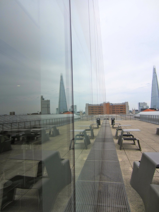 Shard softened by reflection (mrscarmichael)