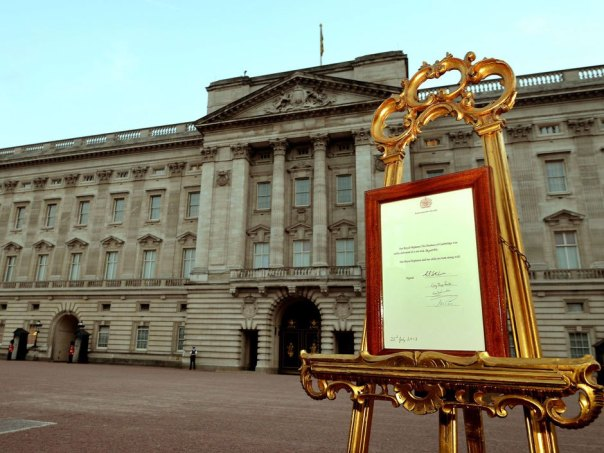 HRH, the royal easel (national post.com)