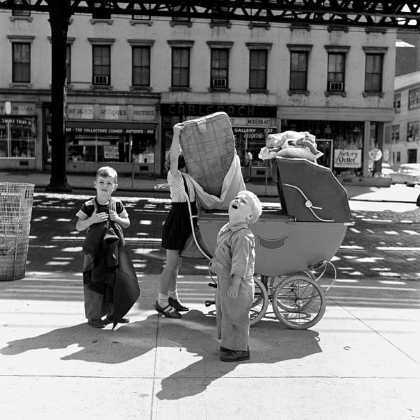 vivian Maier NY, 1955 (Maloof collection)