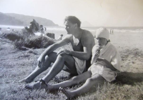 Piha, January '67 (mrscarmichael's mother)
