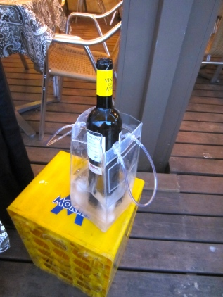 amarillo crate for a Spanish vino (mrscarmichael)