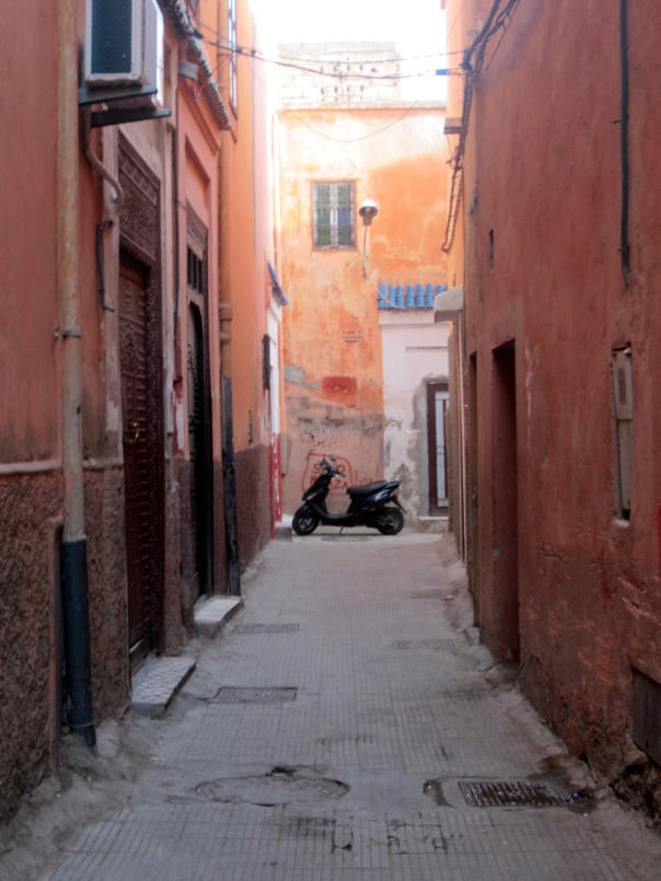 our street in the Medina (mrscarmichael)