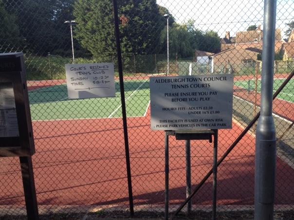 £2.50 per court (mrscarmichael)